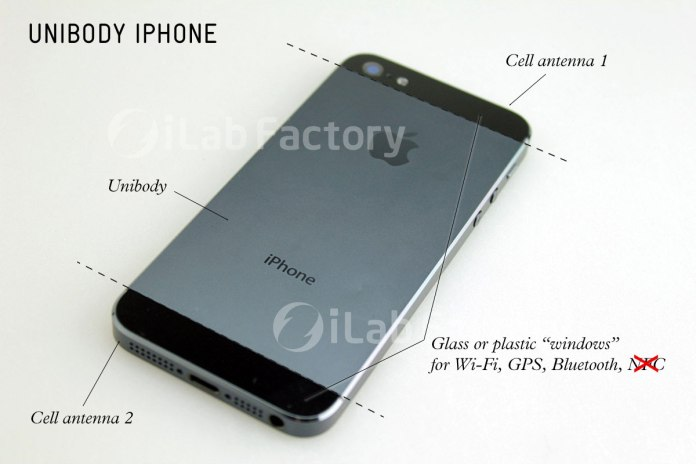 iPhone 5 leaked design