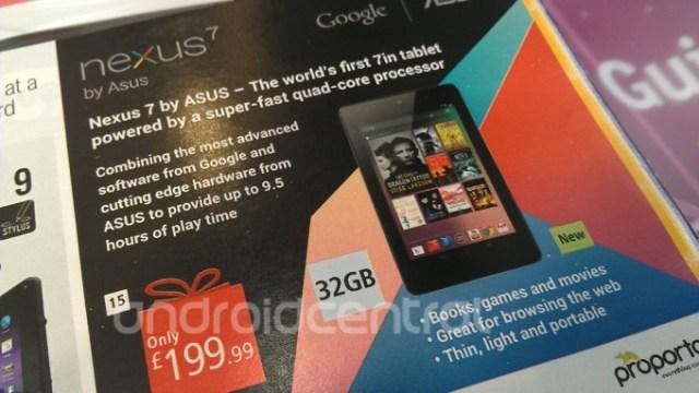Google Nexus 7 32 GB UK