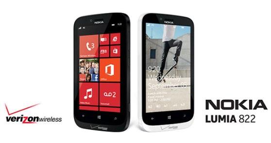 Nokia Lumia 822 Verizon