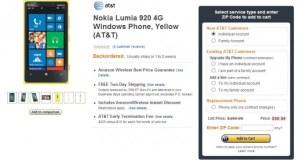 Nokia Lumia 920 Amazon Wireless
