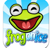 frog on ice iphone game