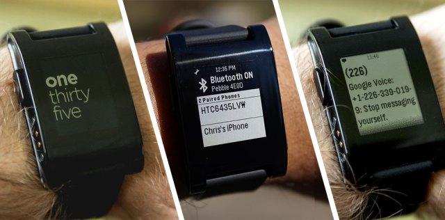 Smartwatch success - The Pebble