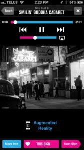 The Visible City iPhone App