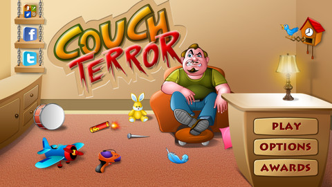 couch terror iphone game
