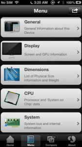 Lirum Device Info iPhone App
