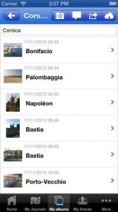 Travel Journals & Travel Photos iPhone App
