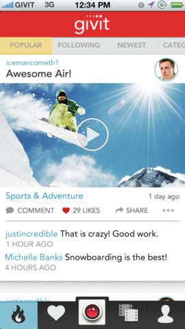 Givit iPhone App