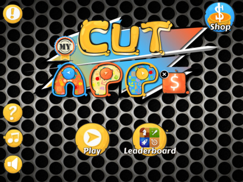 Cut My Apps HD iPad Game