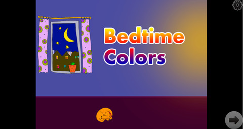 Bedtime Colors iPhone App