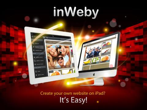 inWeby iPad App