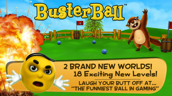 BusterBall iPhone Game