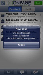 OnPage iPhone App
