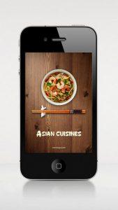 Asian Cuisines iPhone App