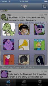 Stenosaur Personal Microjournal iPhone App