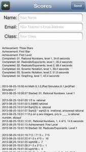 Middle School Math 8th Grade iPhone App