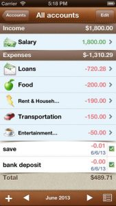 Alzex Finance iPhone App