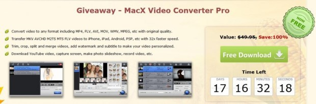 MacX Video Converter Pro-giveaway-page