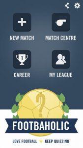 Footbaholic iPhone Game