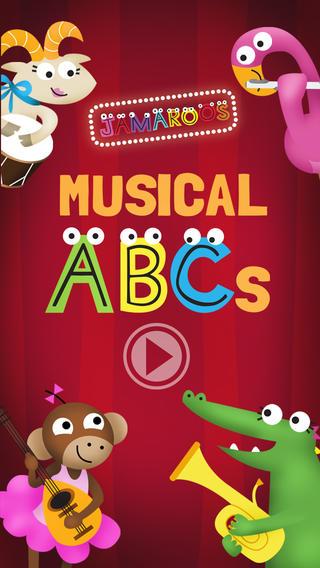 Jamaroos Musical ABCs iPhone App