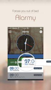 Alarmy (Sleep If U Can) iPhone App