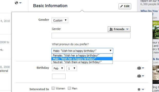 Facebook Gender Option Moving Past Male And Female