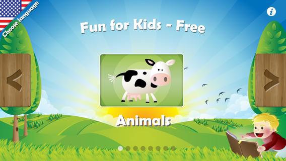 Fun For Kids HD Free iPhone app
