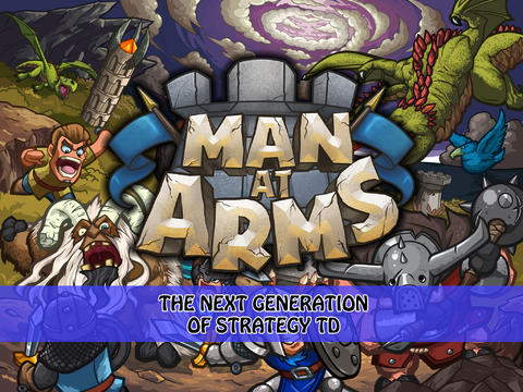 Man at Arms TD - tower defense game for iPad
