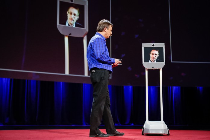 Snowden Makes TED Appearance, Says More NSA Documents On The Way