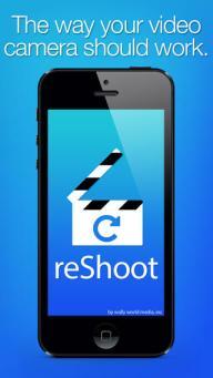 reShoot iphone video camera app