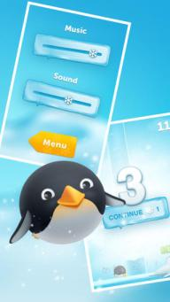 The Little Penguin that Could iPhone game