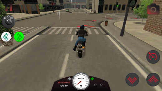 Motorcycle Driving School 1