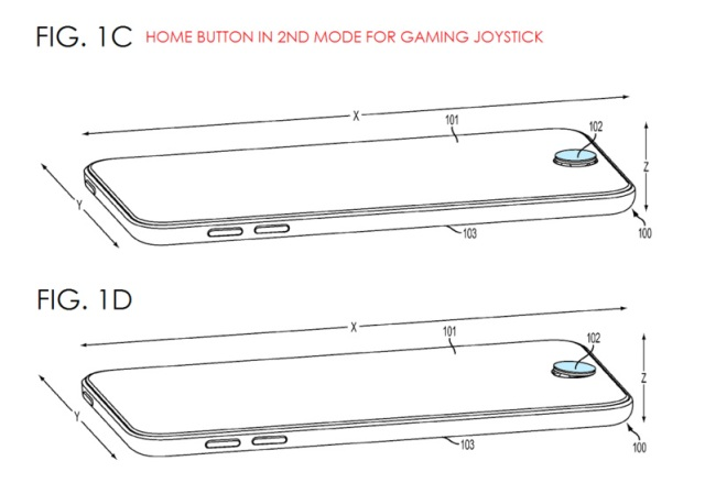 Apple iPhone home button gaming joystick (2)