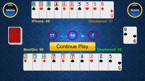 Best Gin Rummy Screen 3