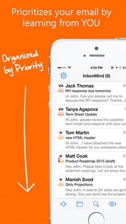 InboxMind Screen 2
