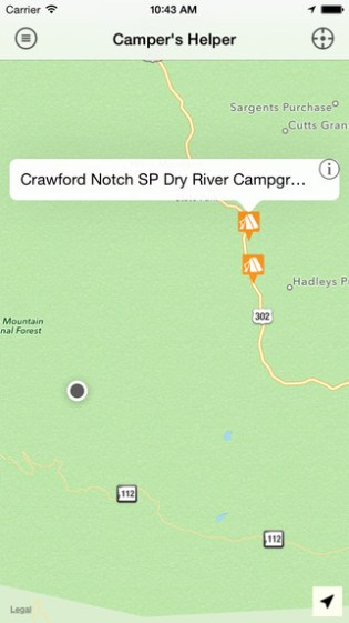 Camper's Helper App
