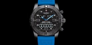 Breitling Exospace B55 Smartwatch with blue strap