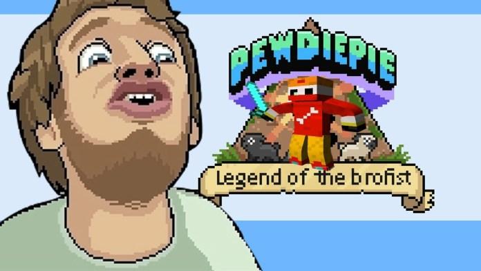 pewdiepie legend of the brofist
