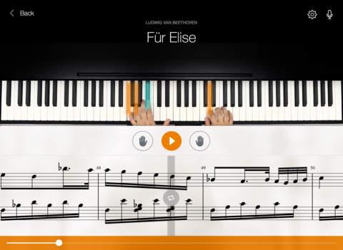 Flowkey iPad piano app