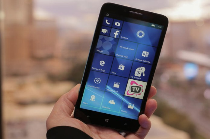 Windows Phone Introduces New Alcatel Windows 10 Mobile Flagship