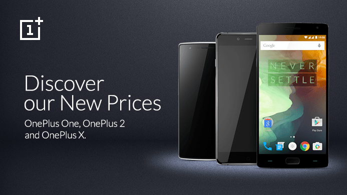 All OnePlus smartphone's price tags have been reduced