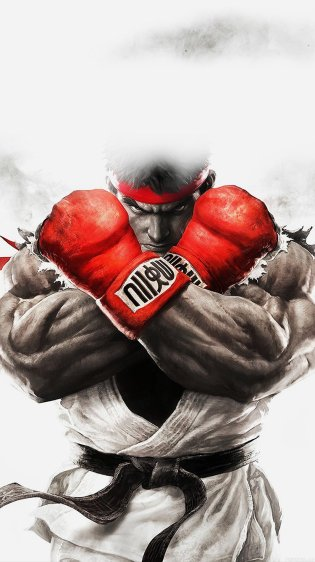 Hulk red boxing HD Gaming Wallpapers for iPhone 7