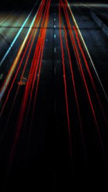 Car Night Lights Wallpapers for iPhone 7 in HD