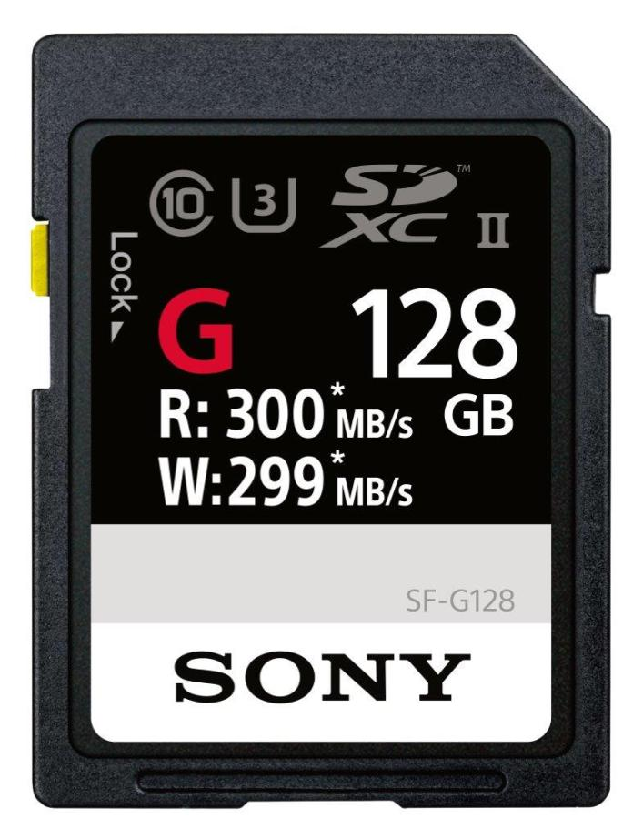 Sony SD cards and Memory Stick could conquer all others in the speed department