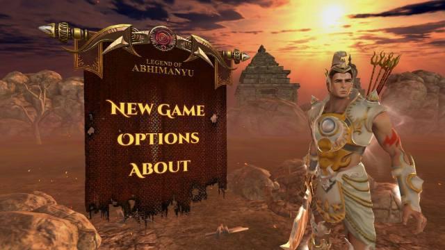 Screenshot of LoA - Legend of Abhimanyu Game iOS home page
