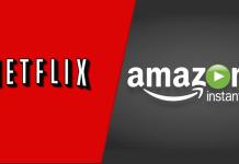 Amazon Prime and Netflix