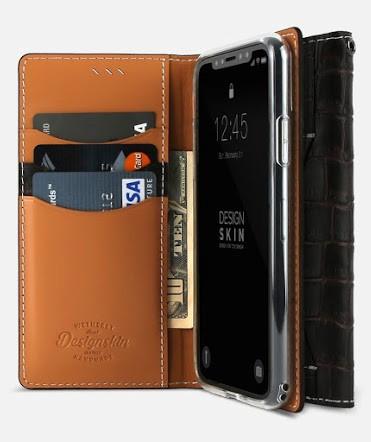 DesignSkin Handmade Genuine Leather Wallet Case