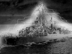 An image of the Philadelphia experiment.