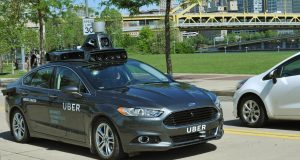 Uber self driving cars