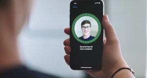 The iPhone X supports facial recognition