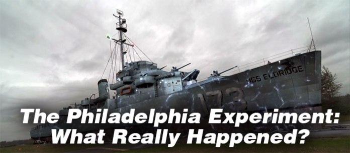 philadelphia experiment what actually happened